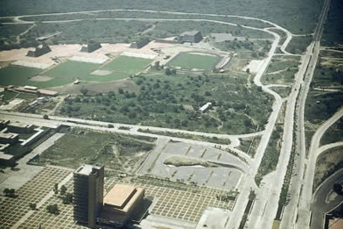 Así Inició La Construcción De Ciudad Universitaria Hace 69