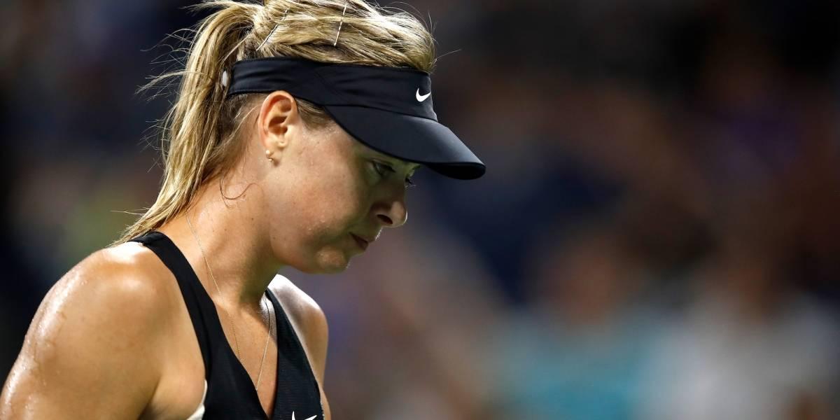 Lo que hace María Sharapova para terminar con sus lesiones