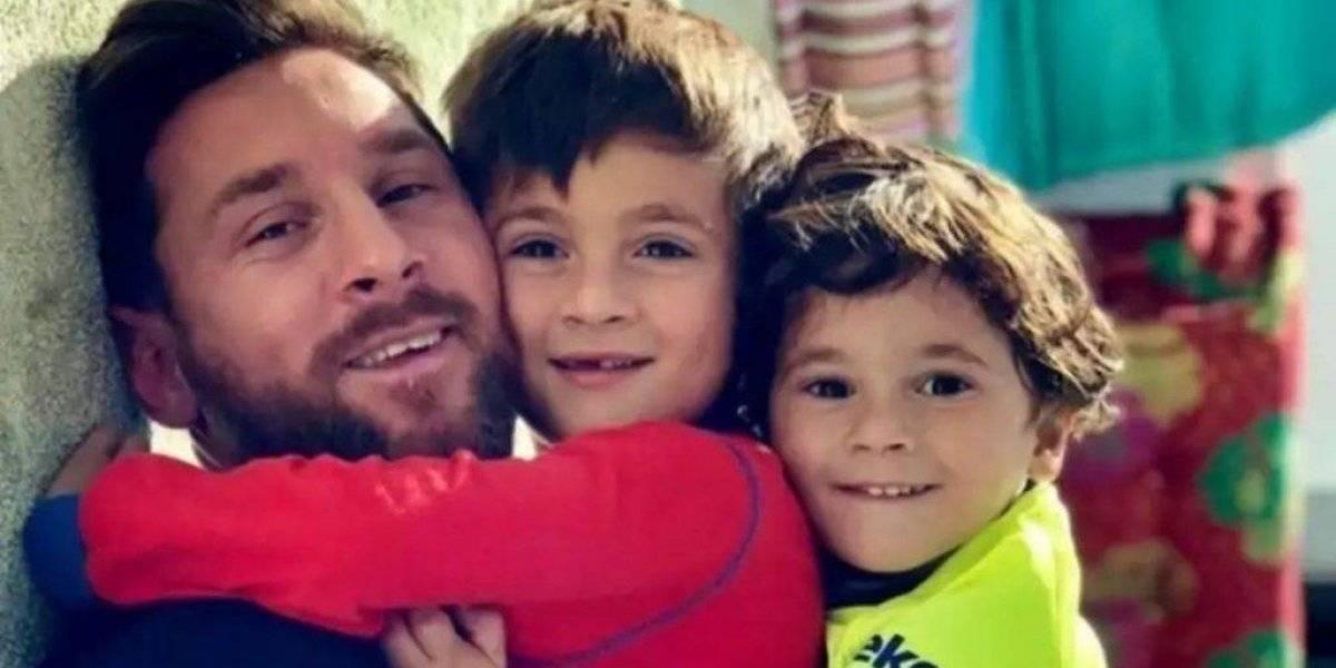 VIDEO. La anécdota de Messi con su hijo que le está dando la vuelta al mundo