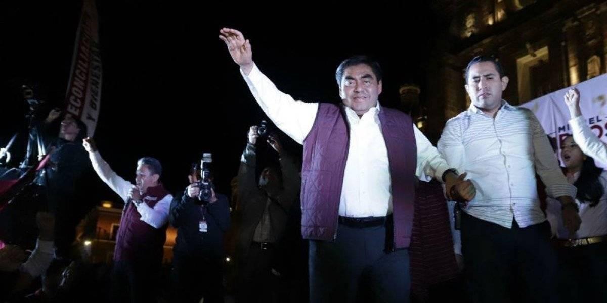 INE ratifica triunfo de Miguel Barbosa a la gubernatura de Puebla