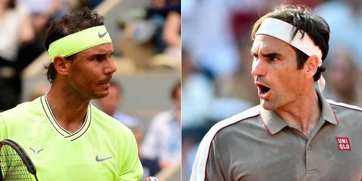 Nadal y Federer juegan mañana en Roland Garros