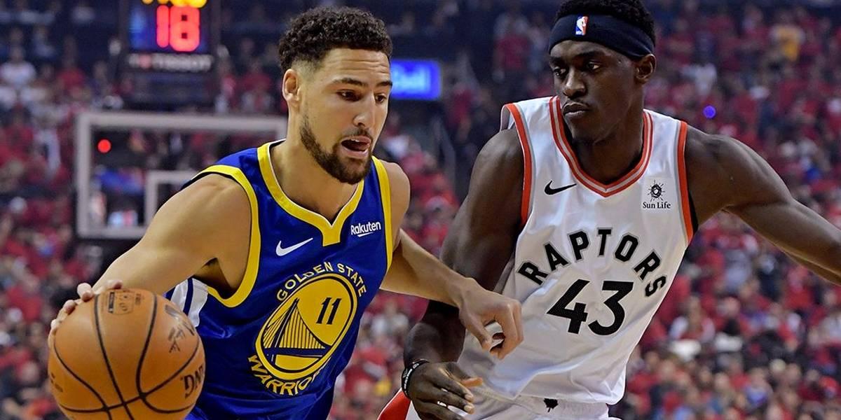 NBA: Com desfalques, Warriors recebem Raptors no jogo 3 das Finais