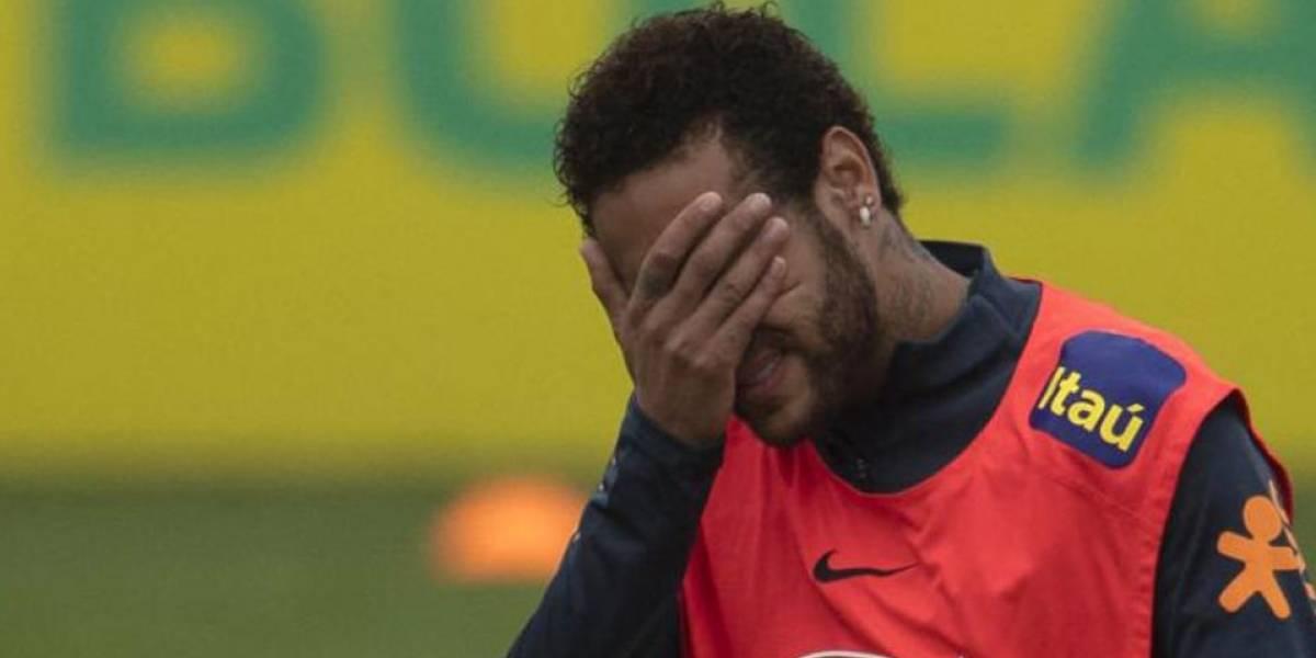 Caso de violación: Aseguran que Neymar no jugará la Copa América