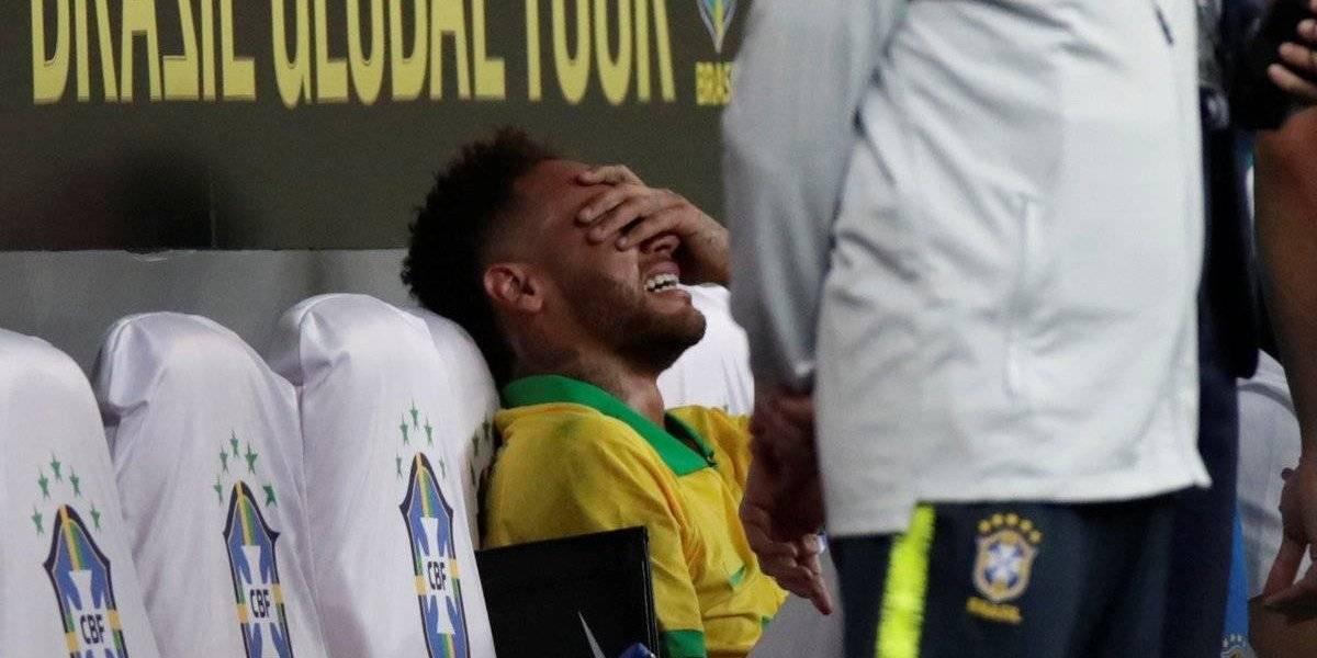 VIDEO. Neymar enciende más las alarmas en Brasil tras su lesión