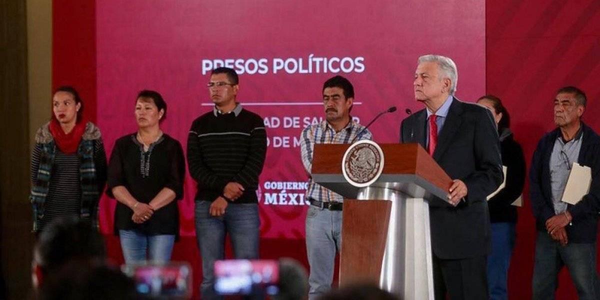 Anuncia AMLO liberación de seis presos políticos; agilizará procesos