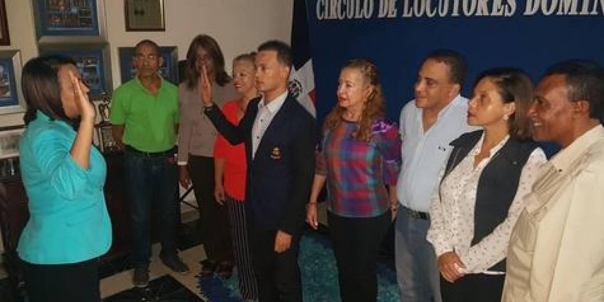 Rafael Padilla juramentado como sub secretario de Relaciones Públicas del CLD