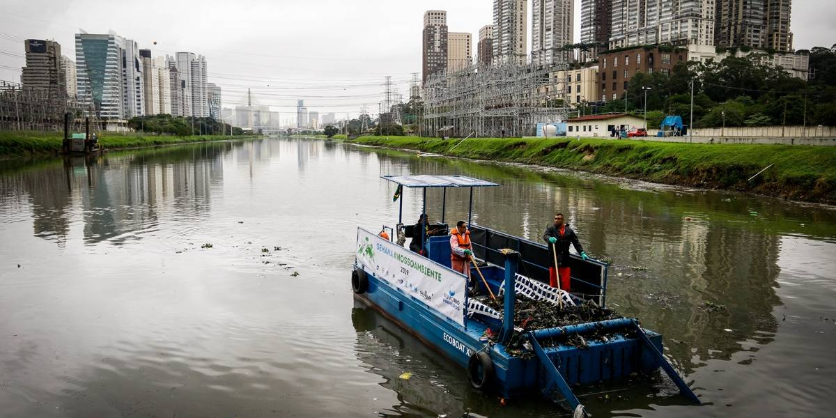 Doria anuncia plano de desassoreamento do rio Pinheiros