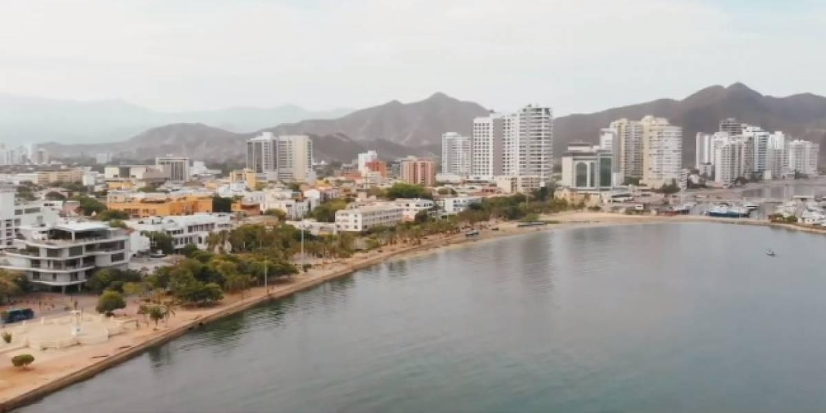 Apareció la turista chilena víctima de un robo en Santa Marta