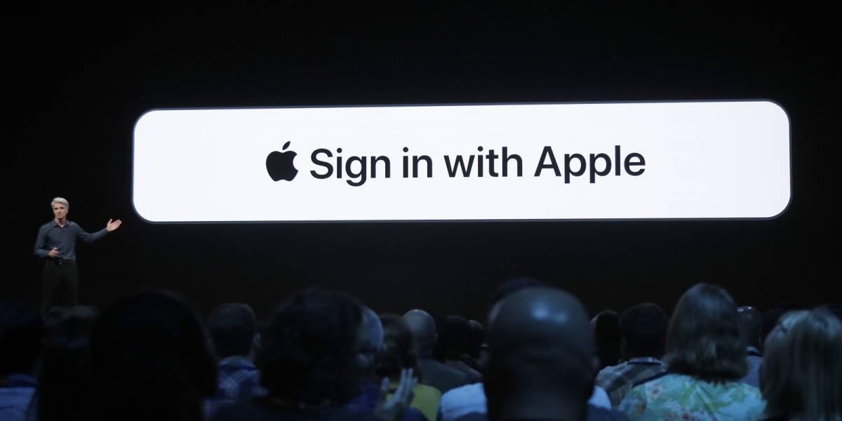 """""""Sign in With Apple"""" se mete directamente en el bolsillo de Google y Facebook #WWDC19"""