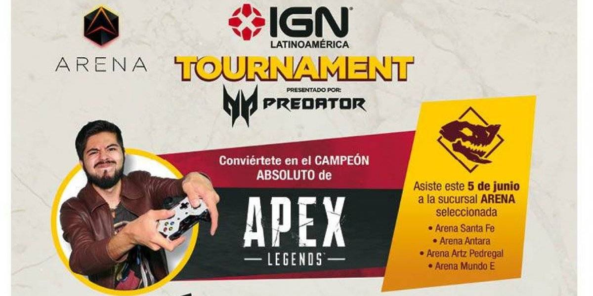 Sigue en vivo el IGN Tournament Apex Legends 2019, hoy es el gran día