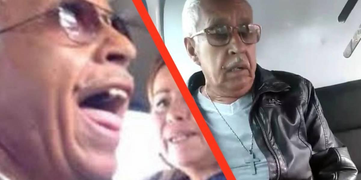 El señor de la combi explica el origen de la pelea en video que se volvió viral en Twitter y Facebook