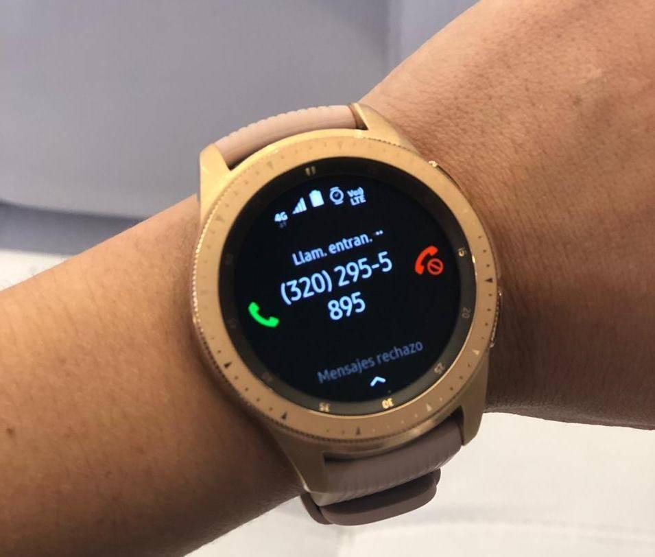 Llega a Colombia el Galaxy Watch LTE, el reloj inteligente de Samsung que funciona independientemente de tu celular