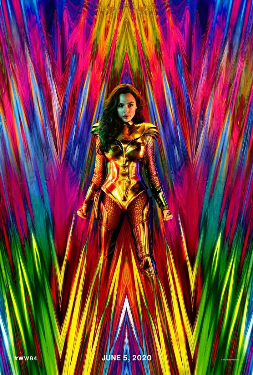 El nuevo póster de Wonder Woman 1984 nos sorprende con un increíble traje digno de Los Caballeros del Zodiaco