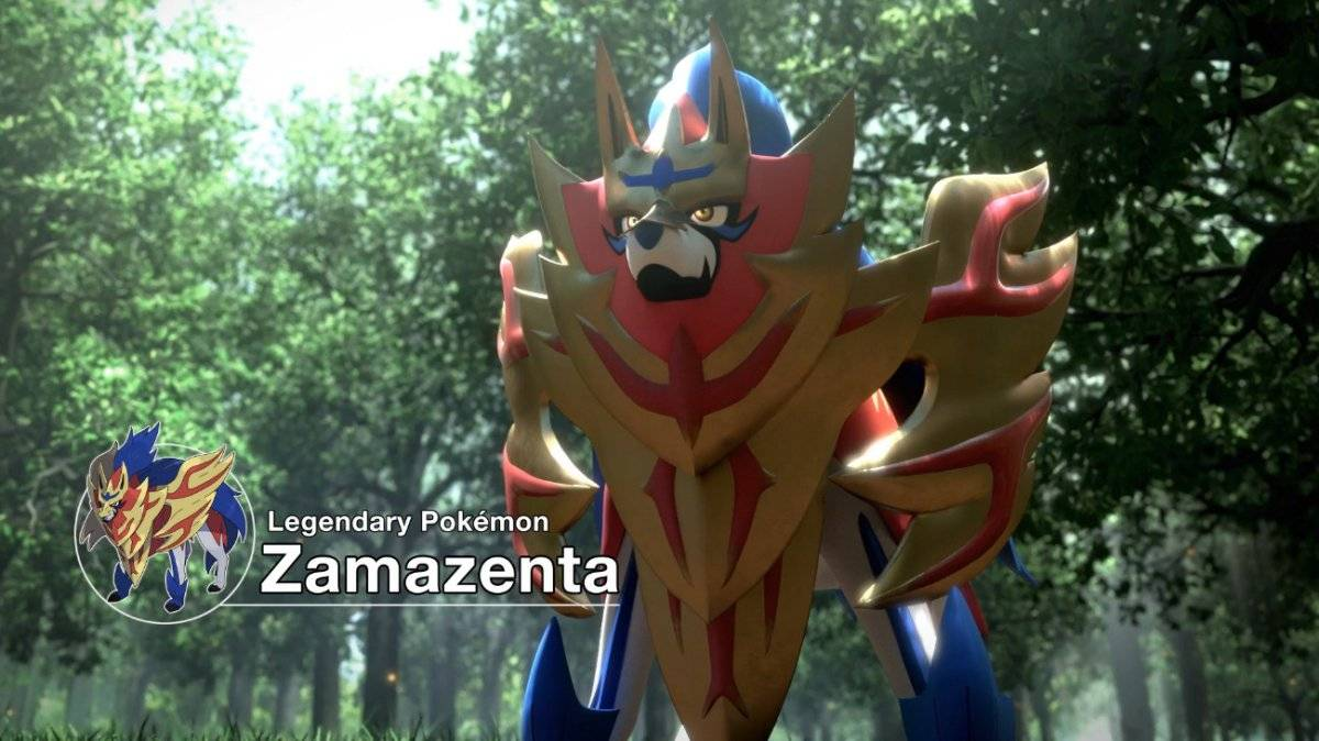 Zamazenta, um dos pokemóns lendários Reprodução/YouTube