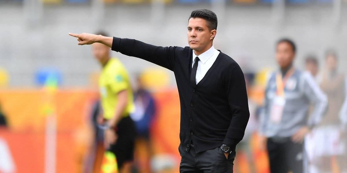 Diego Ramírez deja de ser DT de la Selección mexicana Sub 20