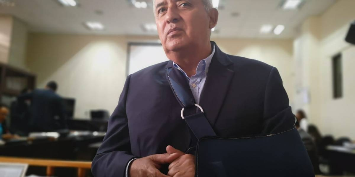 Tribunal niega salir de prisión a Otto Pérez Molina