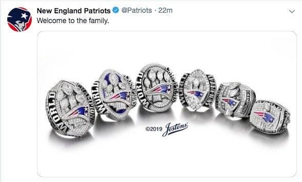 Twitter: @Patriots