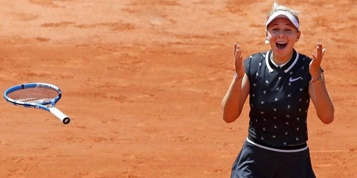 Amanda Anisimova elimina a Simona Halep y avanza en Abierto de Francia