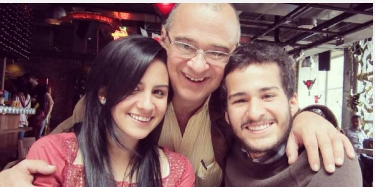 La familia que dejó el presentador Jota Mario Valencia