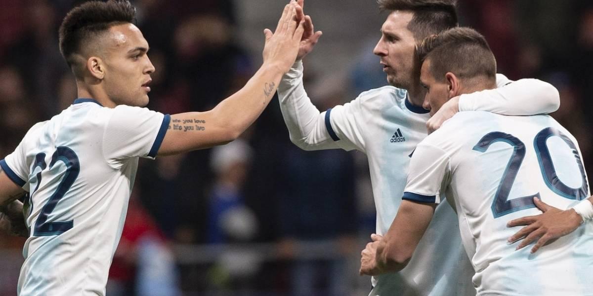 Ante Nicaragua, Argentina se despide de su hinchada de cara a la Copa América