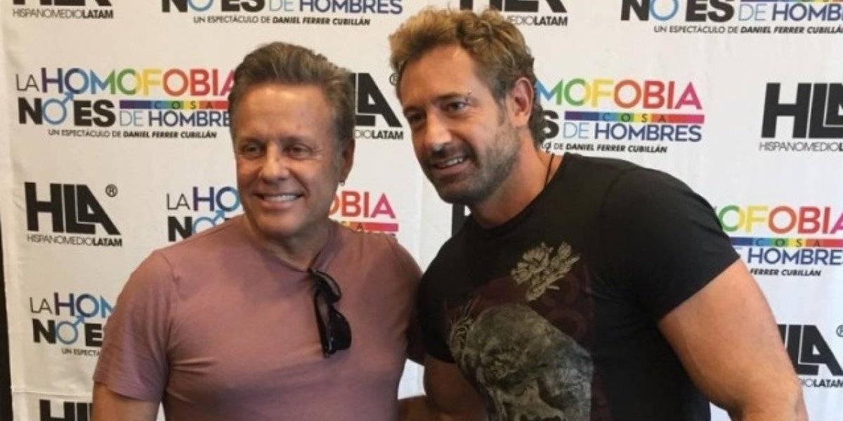 Alexis Ayala y Gabriel Soto contra la homofobia