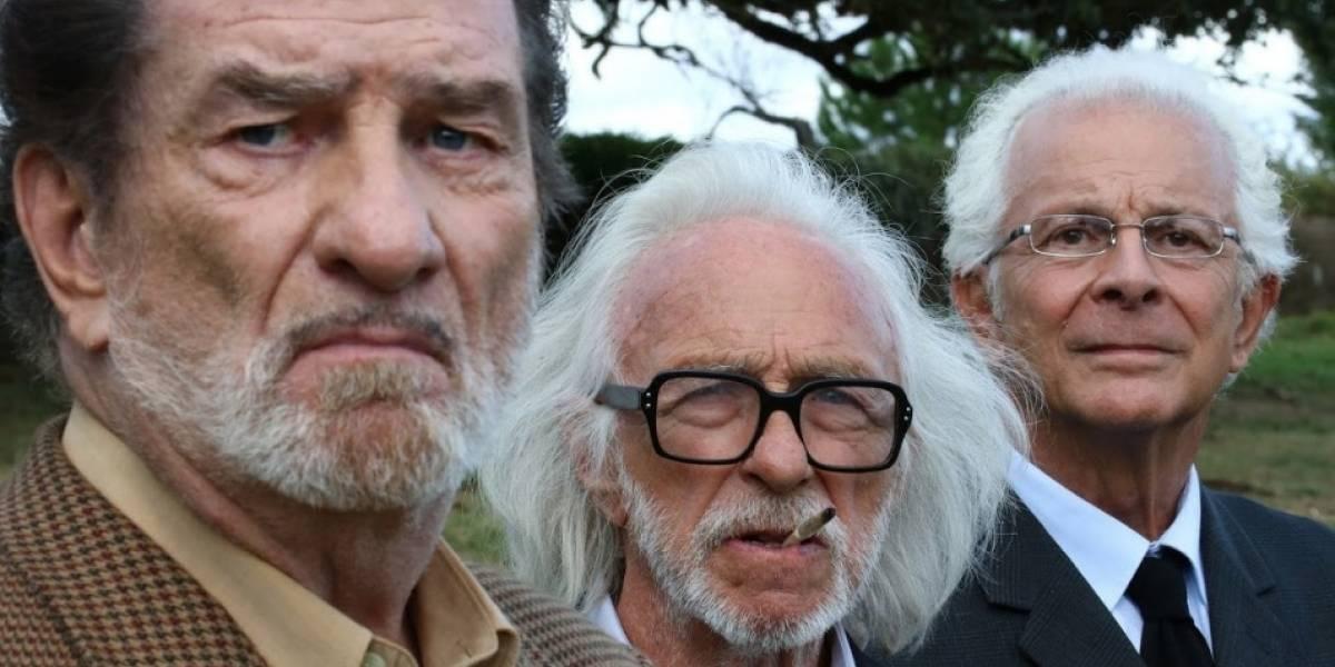 'Tres viejos amigos', una comedia para reírse de la edad, llega a salas de cine del país