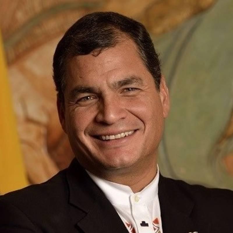 Rafael Correa crea una cuenta en la red social rusa VK tras la censura de  Facebook   Metro Ecuador