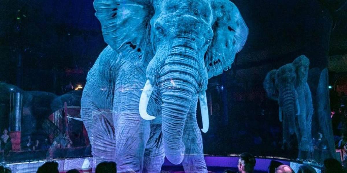 O circo alemão que substituiu animais por lindos hologramas em 3D