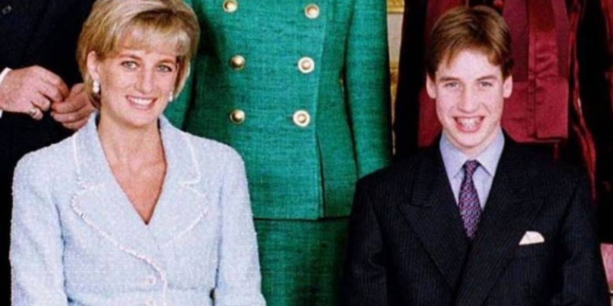 El desgarrador secreto del príncipe William sobre la princesa Diana que nos rompió el corazón