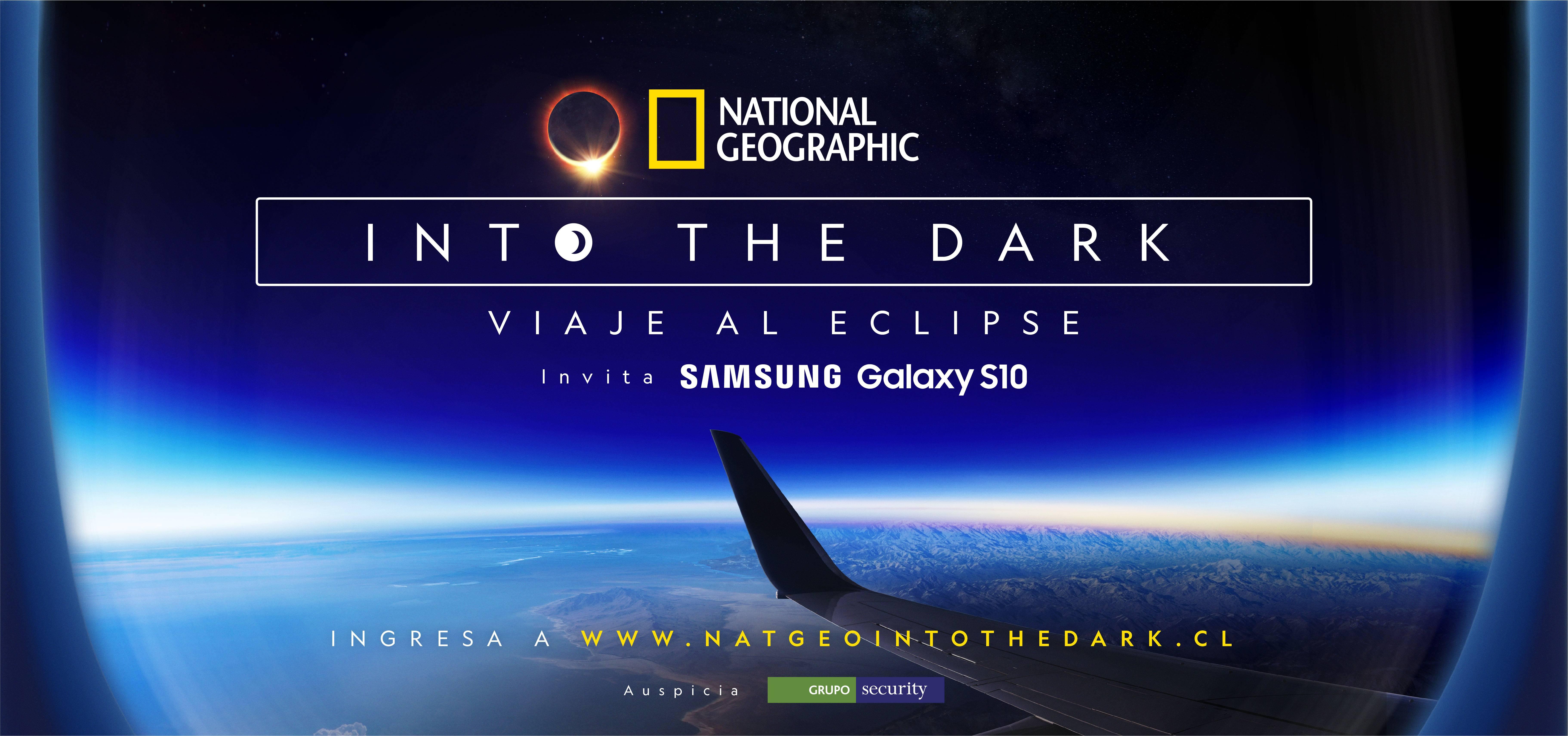 Marca de celulares te invita a fotografiar el eclipse solar desde un avión
