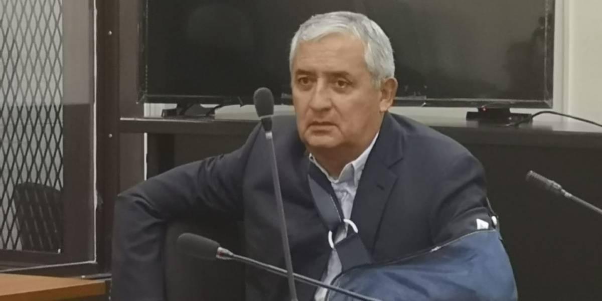 Otto Pérez asegura que se arrepiente de haber elegido a Thelma Aldana como fiscal general