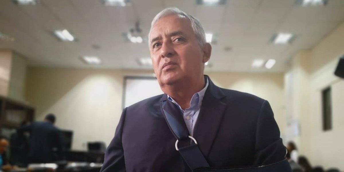 Expresidente Otto Pérez busca que se le otorgue arresto domiciliario