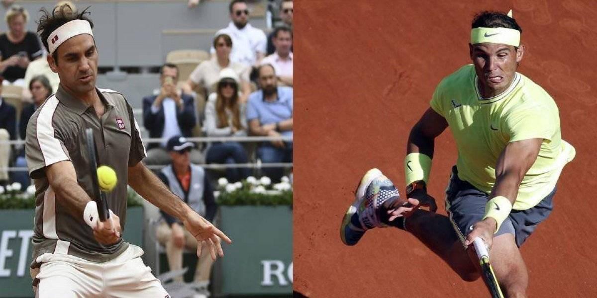 Mayor rivalidad de la historia: Federer y Nadal juegan hoy en semfinales de Roland Garros