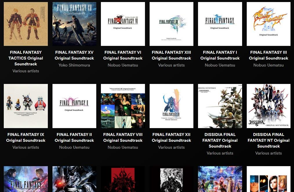 La música original de Final Fantasy llegó oficialmente a Spotify y Apple Music