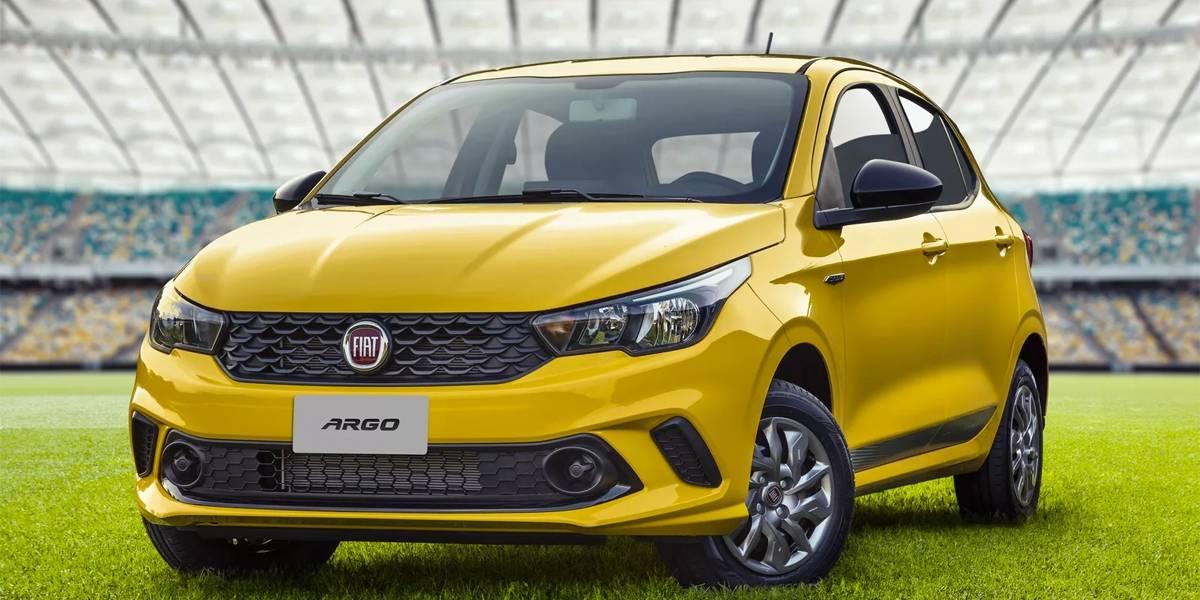 Fiat lança série especial em homenagem à Seleção Brasileira