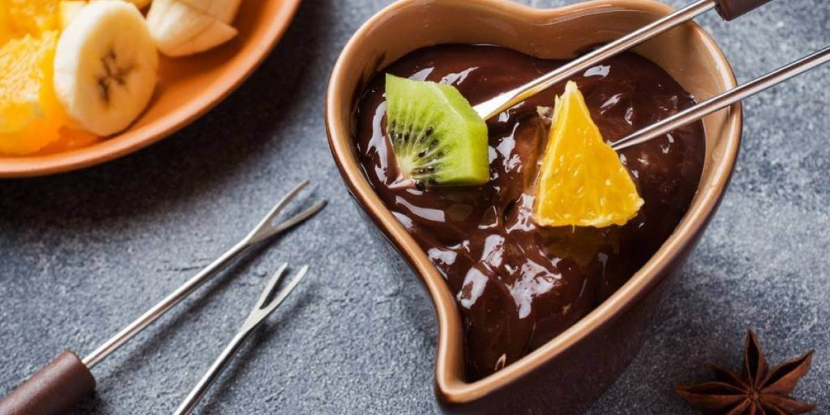 Receita de fondue vegano para o Dia dos Namorados