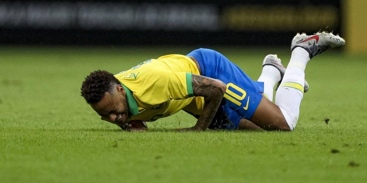 Neymar muestra lesión que sufrió ante Qatar