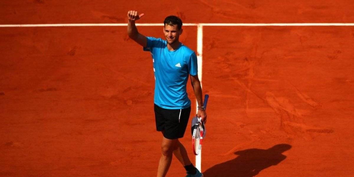 Novak Djokovic y Dominic Thiem necesitaron tres sets para instalarse en semifinales de Roland Garros