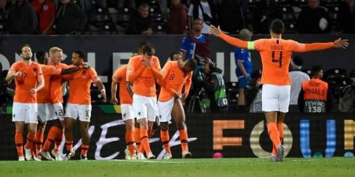 VIDEO. Holanda vuele a la élite del futbol europeo