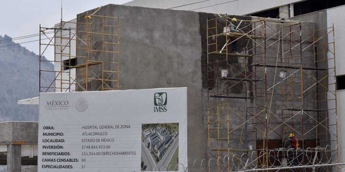 Gobierno de AMLO recibió 306 obras inconclusas en sector Salud