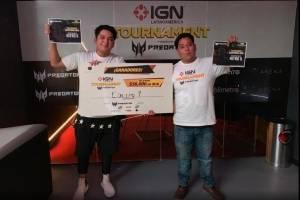 IGN Tournament que se llevó a cabo el 5 de junio