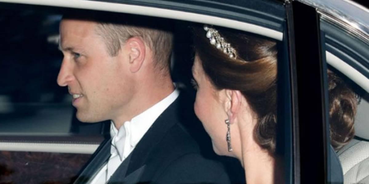 La reunión secreta que realizaron Kate Middleton y el príncipe William luego de la cena con Trump