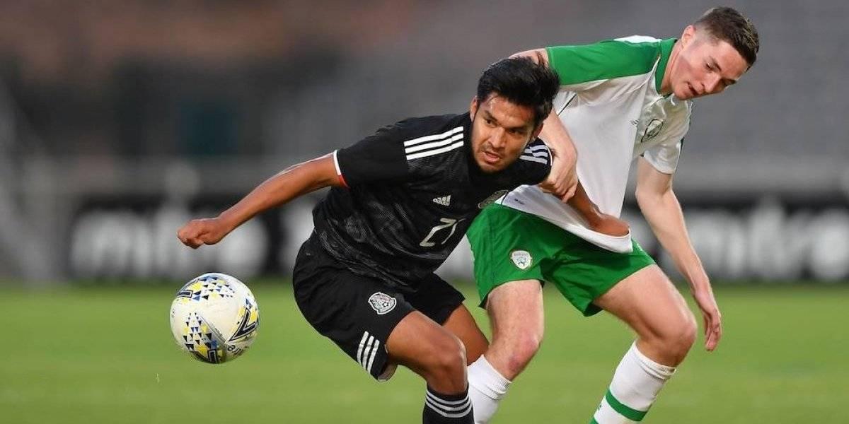 México empata a cero goles con Irlanda en el Maurice Revello