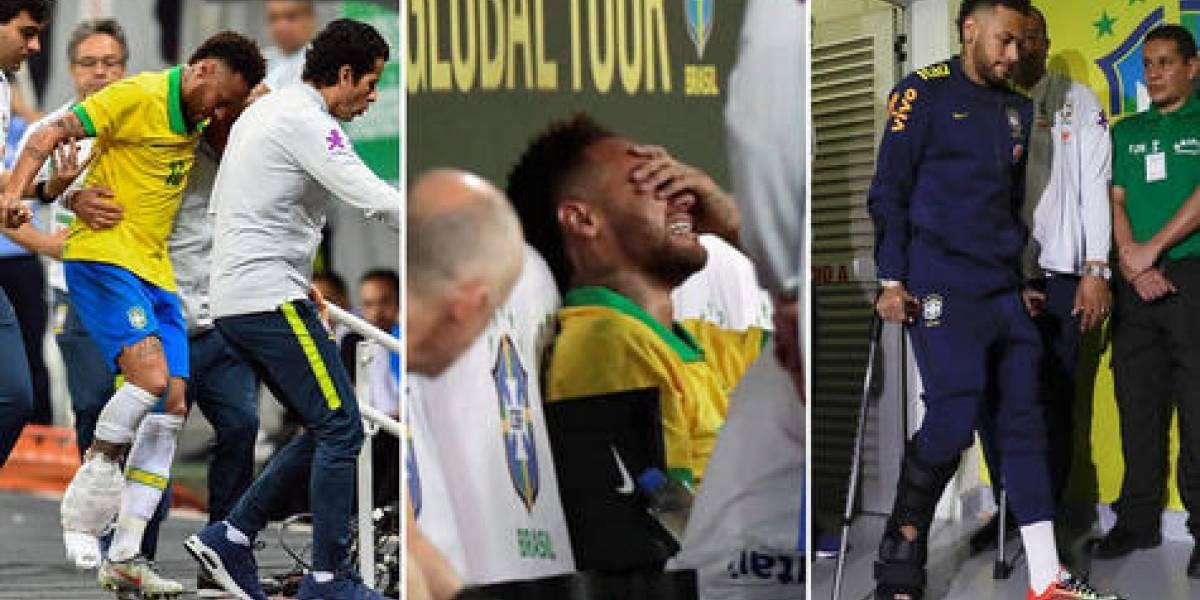 Neymar out de Copa América y hoy declara por violación