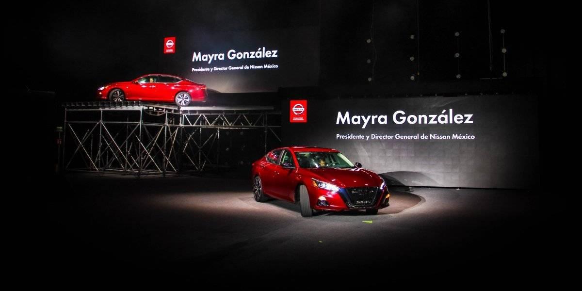 Noche de gala para presentar el nuevo Nissan Altima 2019