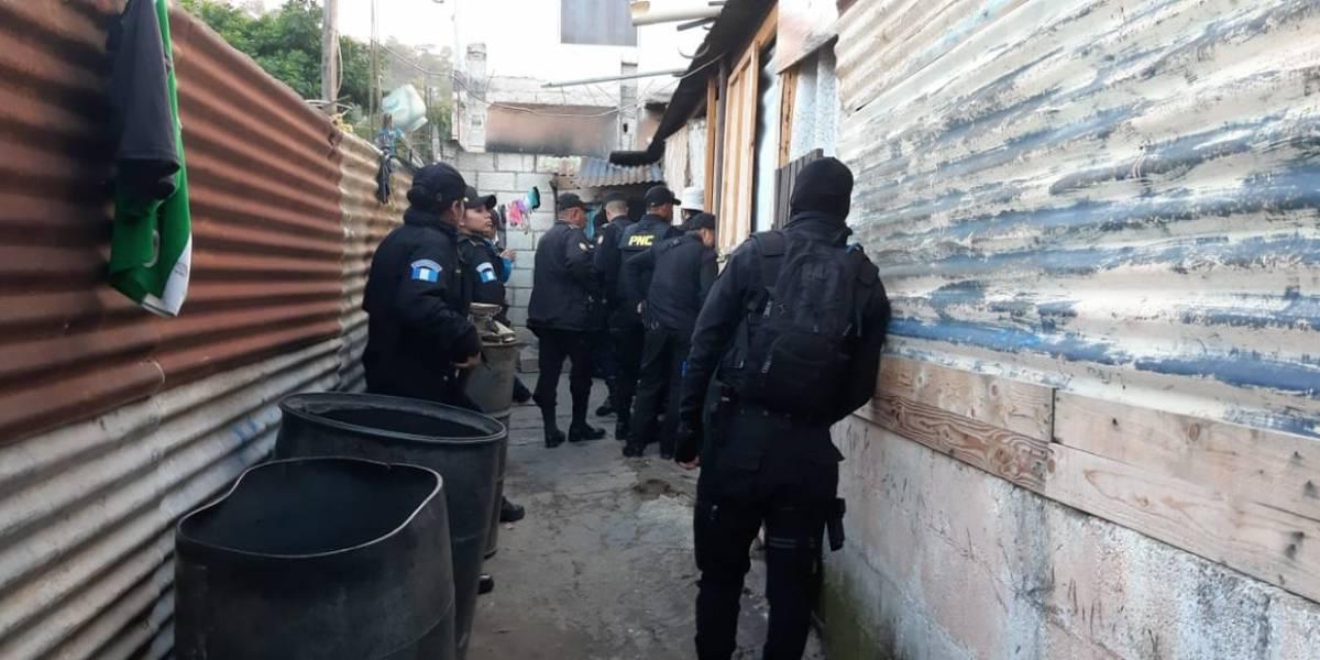 """Capturan a presuntos """"patrulleros"""" en operativo contra el sicariato en Villa Nueva"""