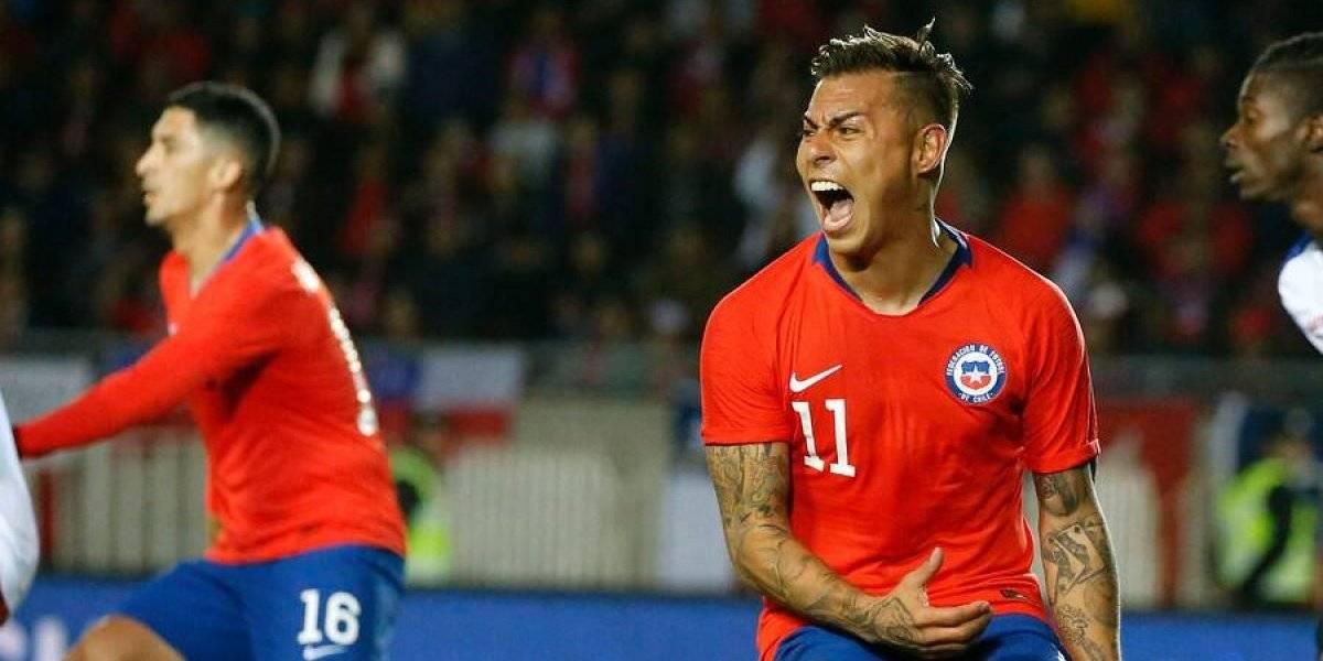 Eduardo Vargas volvió encendido a la Roja y acecha al Matador Salas