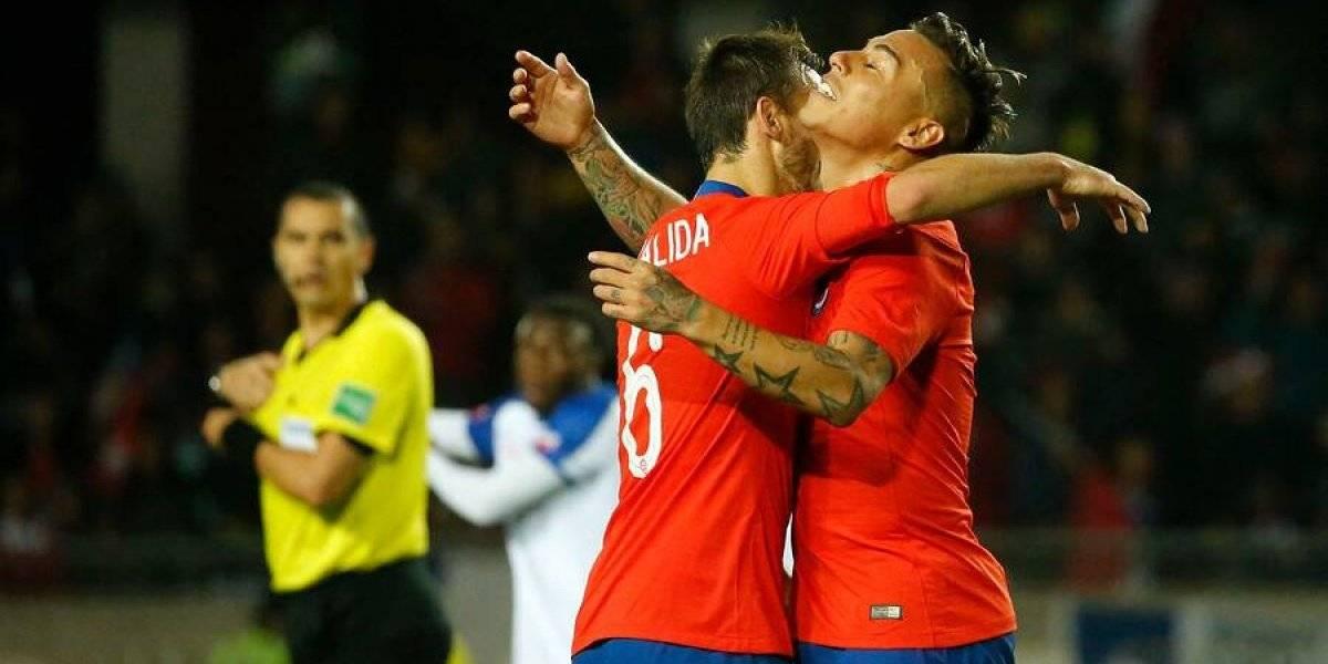 Los relegados le dieron un sufrido triunfo a la Roja sobre Haití en la despedida antes de la Copa América