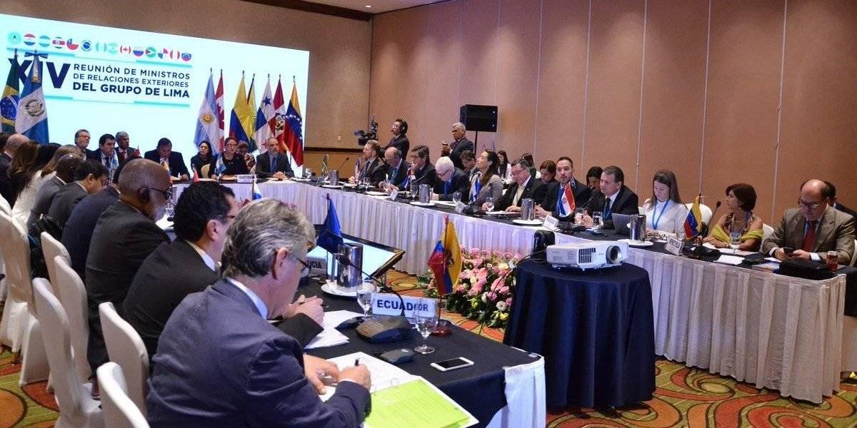 Grupo de Lima debate en Guatemala salida a crisis venezolana