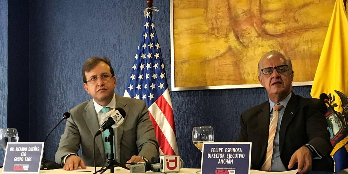 Cumbre de Negocios USA 2019 apunta a ampliar comercio entre Ecuador y Estados Unidos